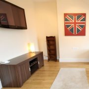 Refurbished house in Clifton with flat screen TV